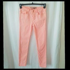 ZARA Trafaluc Pink Skinny Jeans